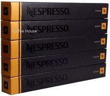 50 NUOVO ORIGINALE NESPRESSO gusto Volluto capsule di caffè BACCELLI UK