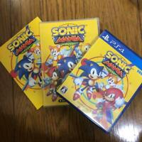 Sonic Mania Plus with Soundtrack CD Artbook PS4 Japan Import Collection Limited