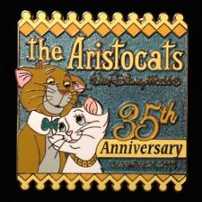 DISNEY PIN - Aristocats 35th Anniversary O'MALLEY and DUCHESS WDW LE - New