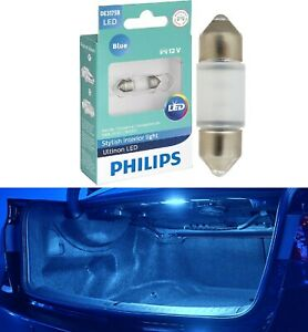 Philips Ultinon LED Light DE3021 Blue 10000K One Bulb Trunk Cargo Replace Lamp