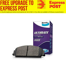 Bendix Rear Ultimate Brake Pad Set DB1163 ULT fits Honda Integra 1.6 (DA6, DA