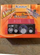 Kinter MA-170 HI-FI Stereo Amplifier New In Box