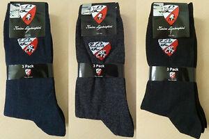 NEU - 3er Pack Tonino Lamborghini Business Socken 2 Farben Gr. 39-42 / 43-46 TOP