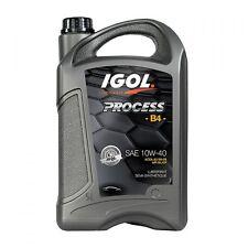 Huile Moteur Igol Process B4 10W40 - 5 litres - ACEA  A3/B4-08 - API SL/CF