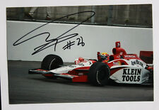 IRL/Indy Car ORIGINALE AUTOGRAFO V. Dan Wheldon +