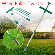 Weed Puller Twister Steel Claw Weeding Root Killer Weed Remover Garden Hand Tool