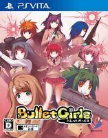 USED  PS VITA Bullet Girls D3 PUBLISHER PlayStation Vita Free Shipping Japan