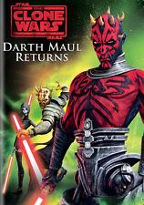 Star Wars The Clone Wars The Phantom Menace Darth Maul Returns on DVD