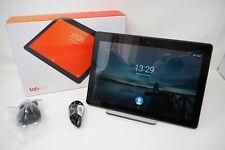 """Lenovo Tab E10 Tablet TB-X104F 10.1"""" HD Display Android 16GB Quad-Core Black 001"""