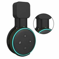 2PCS Outlet Wall Mount Holder Bracket For Amazon Echo Dot 3rd Generation Black