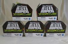 5 Power Rangers Micro Morphers Zords Series 1 Collectible Figures New Other