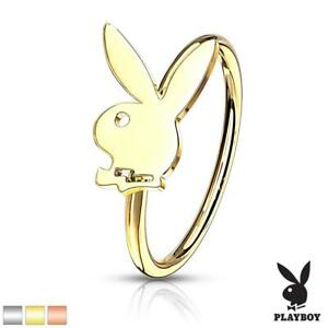 Playboy Bunny Bendable Nose Ring