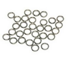stainless steel 304 jewelry chainmaille jump rings open 6mm 18 gauge
