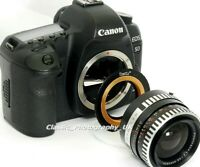 Canon EOS Adapter for ZEISS & PENTAX Lenses to be used on SLR or DIGITAL CANON
