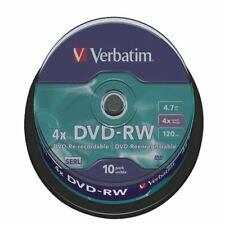 Verbatim DVD RW 4X Spindle Pk10 - VM43552