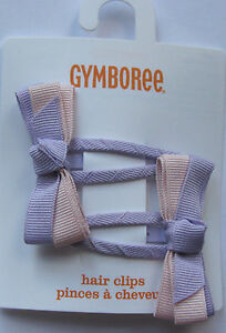 Gymboree Your Choice of Snap Clip Barrettes NEW