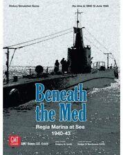 Gmt Games Beneath the Med Regia Marina at Sea 1940-43 2006