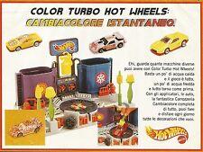 X2206 Hot Wheels - Color Turbo - Pubblicità 1994 - Advertising