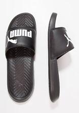 PUMA Men's Slip On Sport Slide Sandals flip flops Slippers Shoes Popcat Black