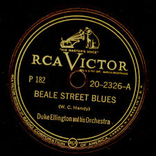 DUKE ELLINGTON & ORCH. Beale Street Blues/ Transblucency  Schellack 78rpm X3284