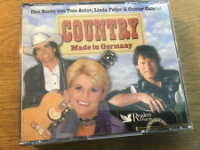 Country Made in Germany [3 CD Box] Gunter Gabriel Tom Astor Linda Feller