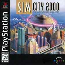 Simcity 2000 - PS1 PS2 Complete Playstation Game