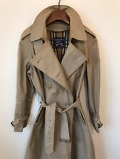 BURBERRY'S of LONDON trench coat! Femme UK 10/12! 38-40 tour de poitrine! Veste! nova!