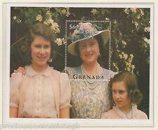 GRENADA QUEEN MOTHER'S 95TH BIRTHDAY MINIATURE SHEET MNH 1995 $6