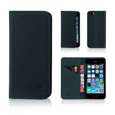 Apple iPhone 5 5s SE Leather Wallet Case Designed by 32nd Classic Real With