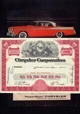 CHRYSLER CORPORATION  Michigan 1969 plus original vintage ad