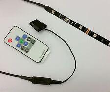 BUDGET PC CASE RGB FLEXI LED STRIP COLOUR CHANGE LIGHT - 30cm STRIP