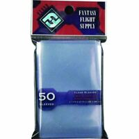 FFG 50 CLEAR MINI EUROPEAN CARD SLEEVES 44X68MM - RED LABEL PACK OF 50