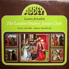 ABBEY MVP 782 London Oratory Junior Choir Laetare Jerusalem [1979] NM/EX + inser