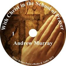 With Christ in the School of Prayer, Audiobook Andrew Murray 1 MP3 CD Christian