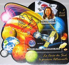 MADAGASKAR MADAGASCAR 2012 unlisted 1st South Korean Astronaut So-Yeon Space MNH