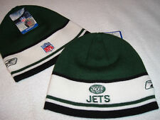 NEW YORK NY JETS TEAM SIDELINE BEANIE HAT SKULL CAP NWT