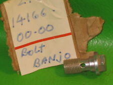 YAMAHA CT1 AT1 DT175 YZ80 FLOAT BOWL BANJO BOLT NOS OEM