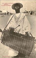 CARTE POSTALE AFRIQUE SENEGAL LE JOUEUR DE BALAFON