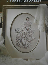 Vintage 1991 The Bride Counted Cross Stitch Pattern Book Leisure Arts #2031