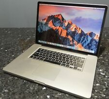 "Apple MacBook Pro A1297 17"", Intel i5 2.53GHZ, 4GB Mem, 750GB HD, DVD-WR"