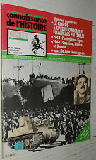 GUERRE 39-45 CORPS EXPEDITIONNAIRE FRANCE JUIN ITALIE 1943-1944 CASSINO ROME