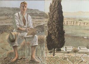Rodolfo  MELI  n. 2 litografie  Paesaggio Greco 100x70  firmate numerate