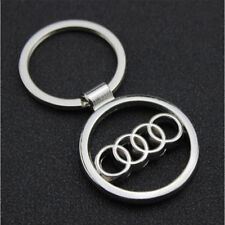 Audi Metal car styling key ring key chain Key-chain fob holder car accessories