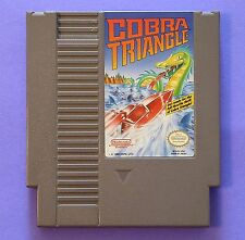 Cobra Triangle (Nintendo Entertainment System, 1989) Game Only, Tested, WORKS!