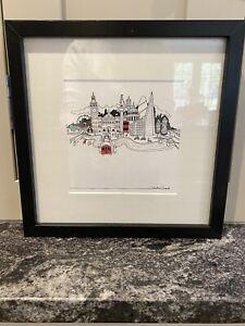 London Print Framed Opt 2
