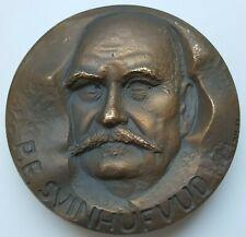 "Finland - Kauko Rasanen Bronze Art Medal 1968 ""P.E. Svinhufvud"", 72,5 mm."
