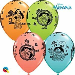 """11"""" Disney Moana Maui Birthday Latex Balloons Party Decorations Hawaiian Kids"""