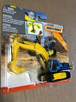 Spanking Hot New MBX Excavator 2019 Matchbox Working Rigs MBX Construction