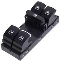 FOR VW GTI Golf Jetta CC Passat Front Left Power Window Master Control Switch