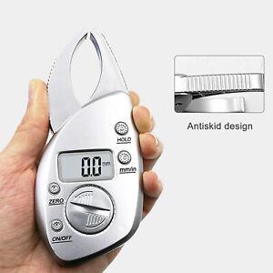 Durable Digital Display LCD Body Fat Caliper Skin Fold Monitor Analyzer Clip